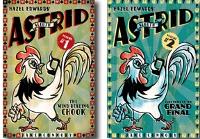 The two   Sleuth Astrid  e-books   , by  Hazel Edwards , illustrated by Jane Connory
