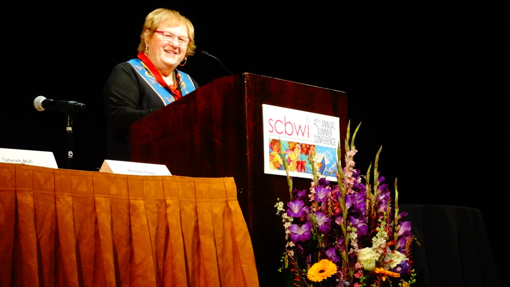 Lin Oliver, Co founder SCBWI.JPG