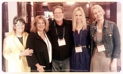 Glenda Millard, Tracey Hawkins, Michael Gerard Bauer, Irma Gold, & Tania McCartney  ( Photo Tania McCartney)
