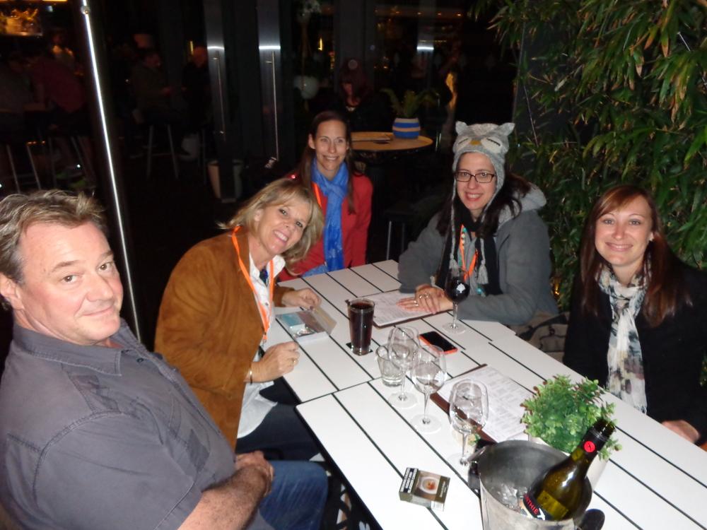 Day one Dinner at Woolarah Hotel 13th July 2014 (3).JPG