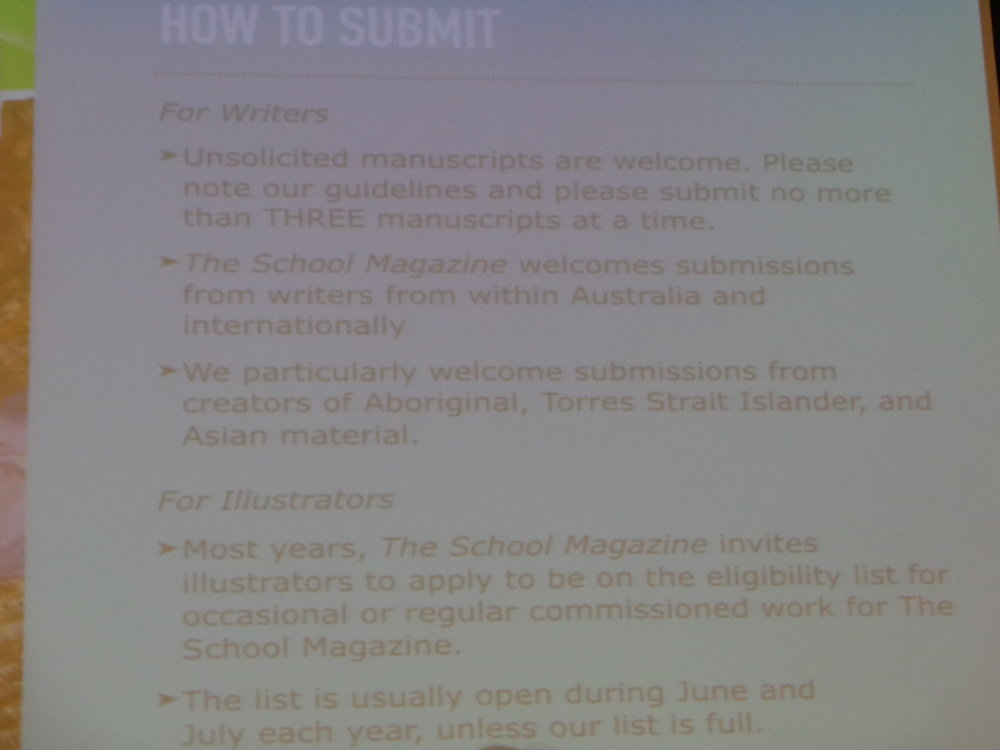 How to submit to The School Magazine