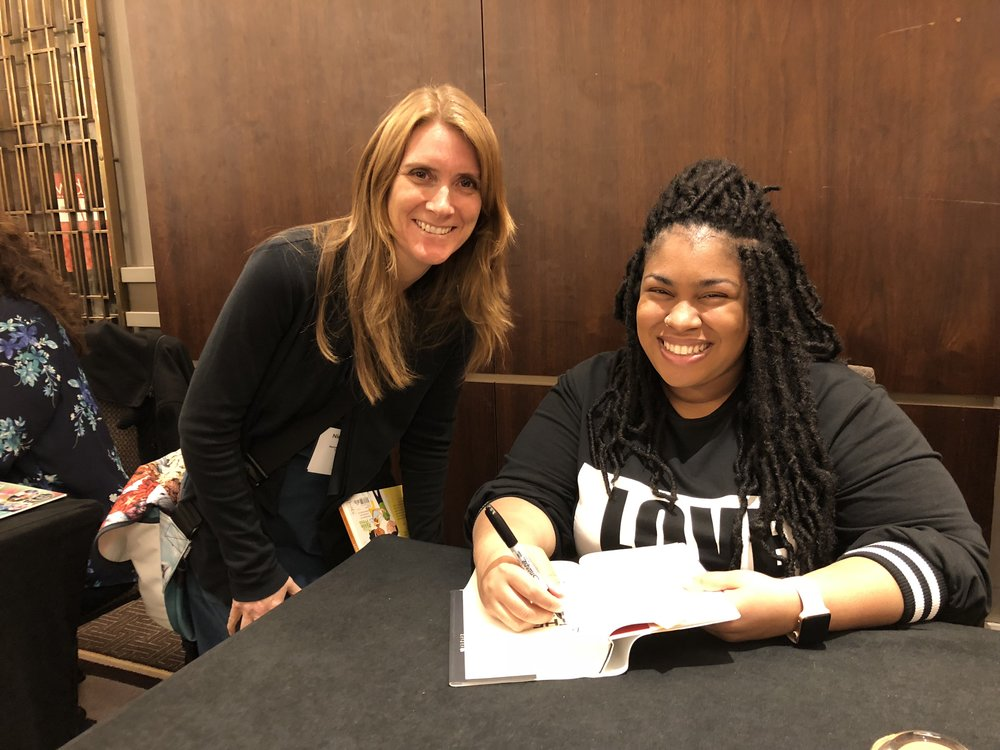 Nicole Godwin and Angie Thomas