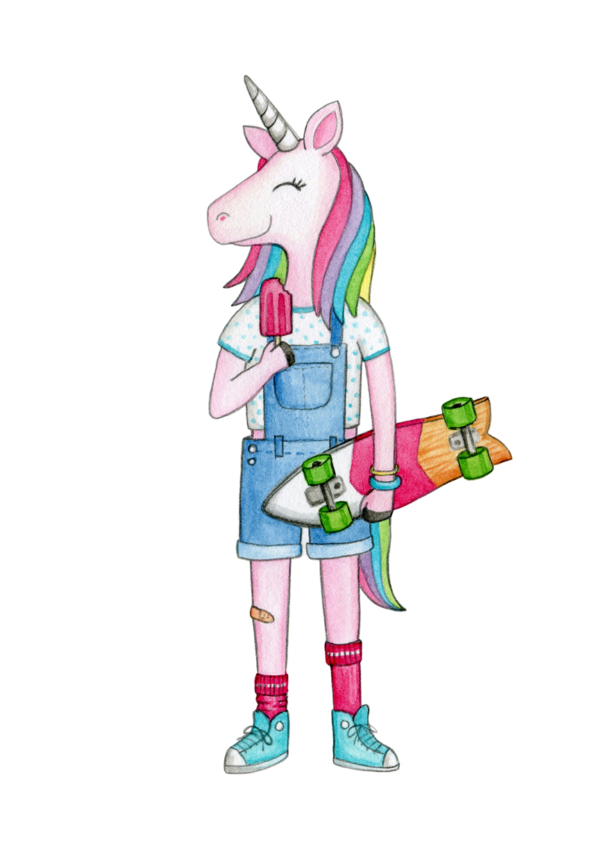 skater girl unicorn 150dpi.jpg