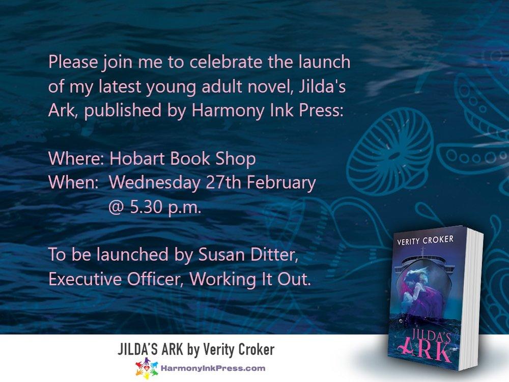 Invitation to launch of Jilda's Ark.jpg