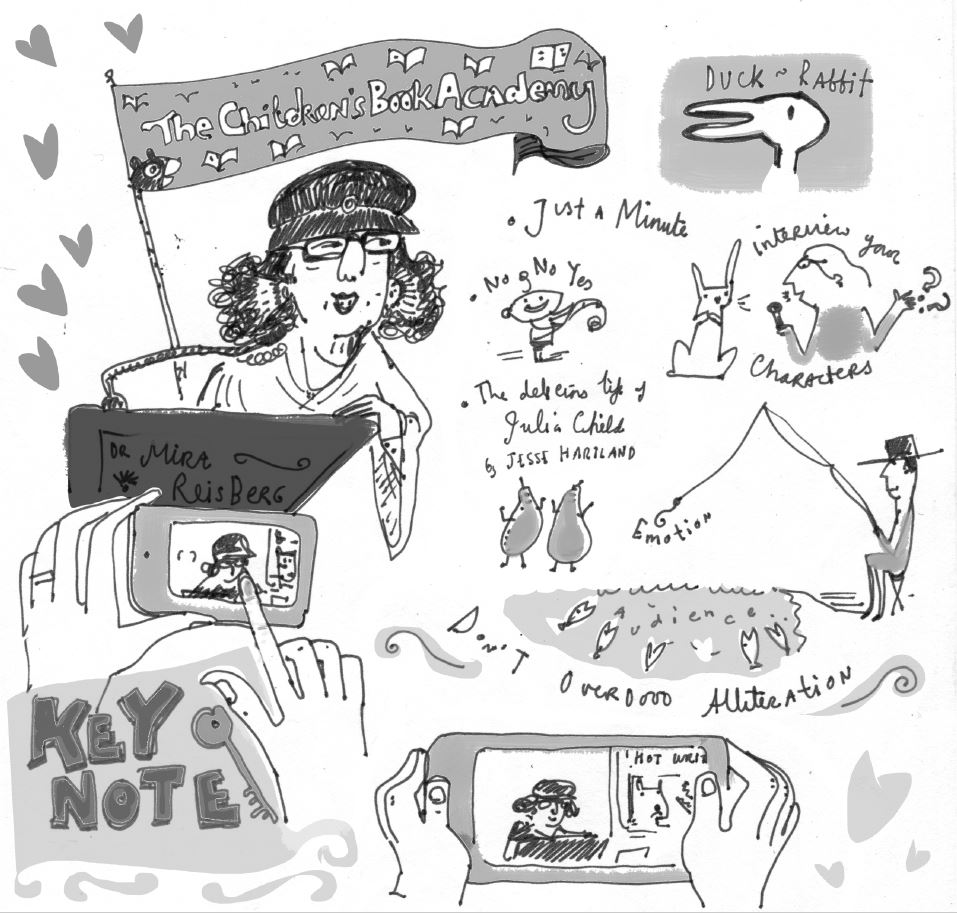 Images of Mira's Keynote presentation courtesy of Liz Anelli