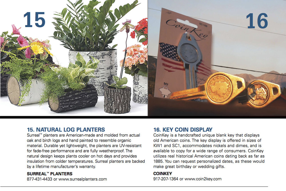 CoinKey Advertised in National Retail Hardware Association Magazine - October 2016