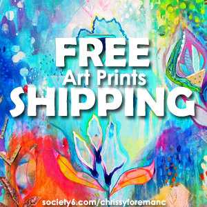*Free Shipping excludes Framed Art Prints, Stretched Canvases
