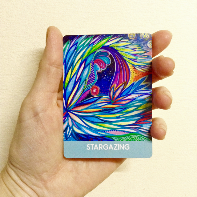 STARGAZING - from  Intuitive Wisdom deck