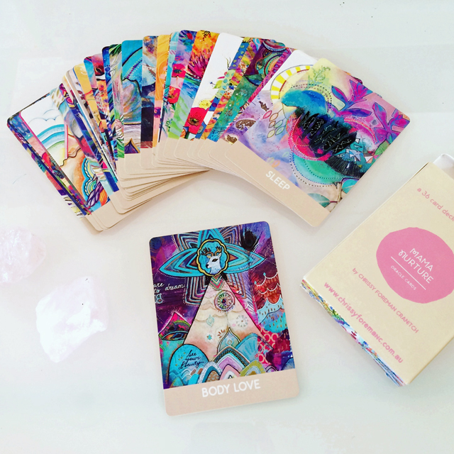 Mama Nurture Oracle Cards - Available  HERE