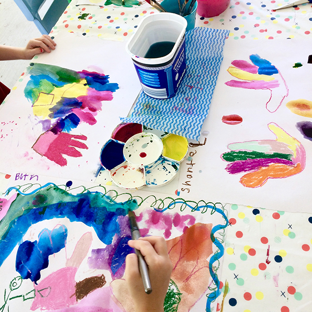 KIDS INTUITIVE  ART CLASSES - AGES 6+