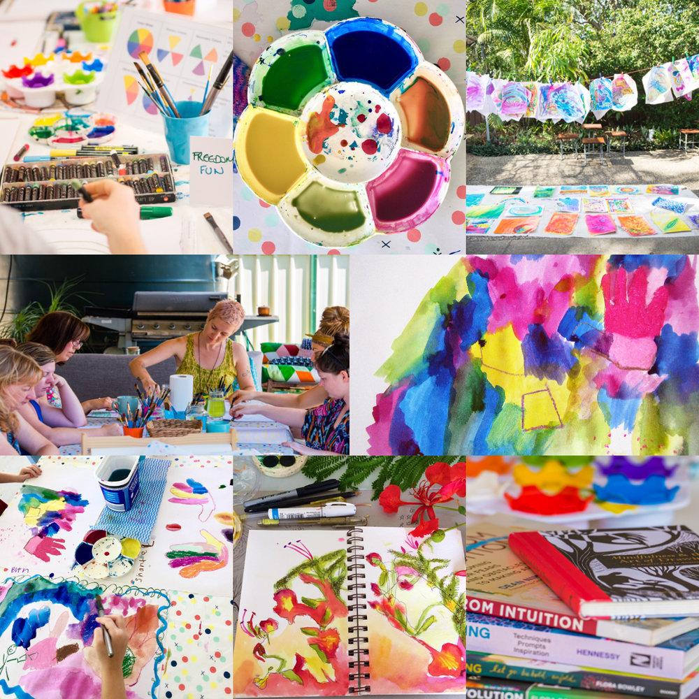 ART CLASS PASS - VALID 2018