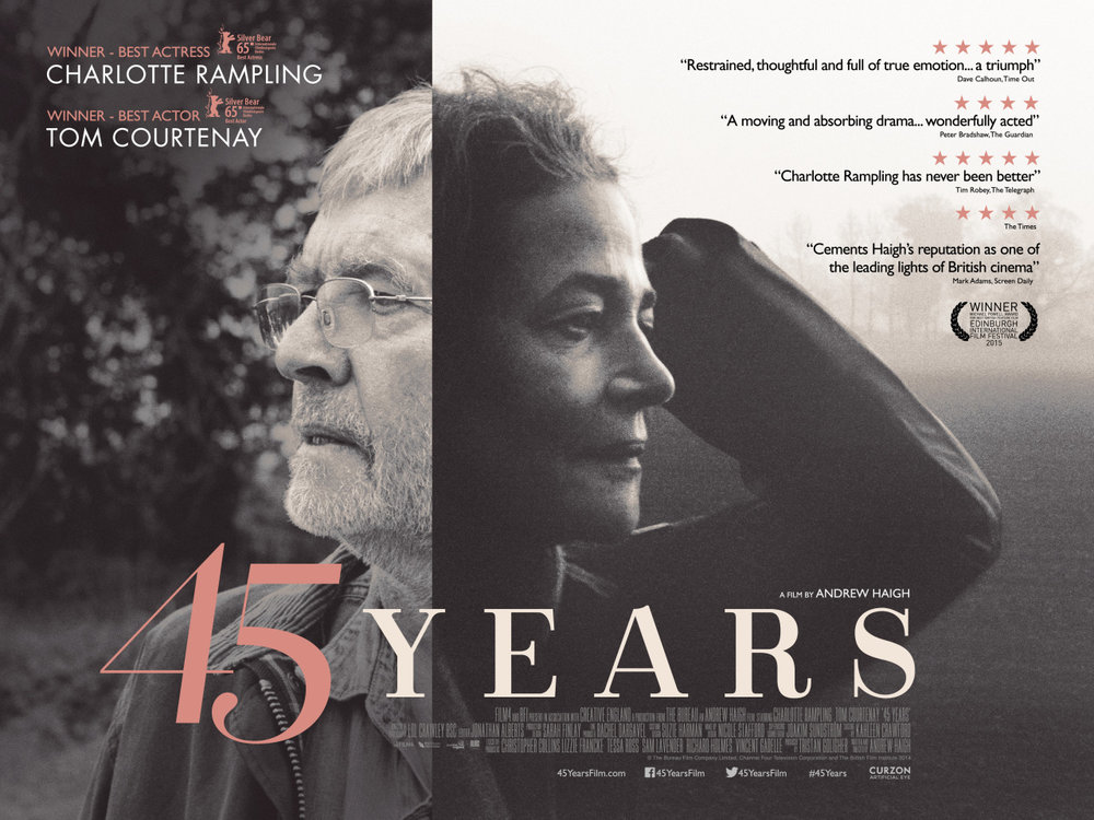 45 Years  - Directed by Andrew Haigh