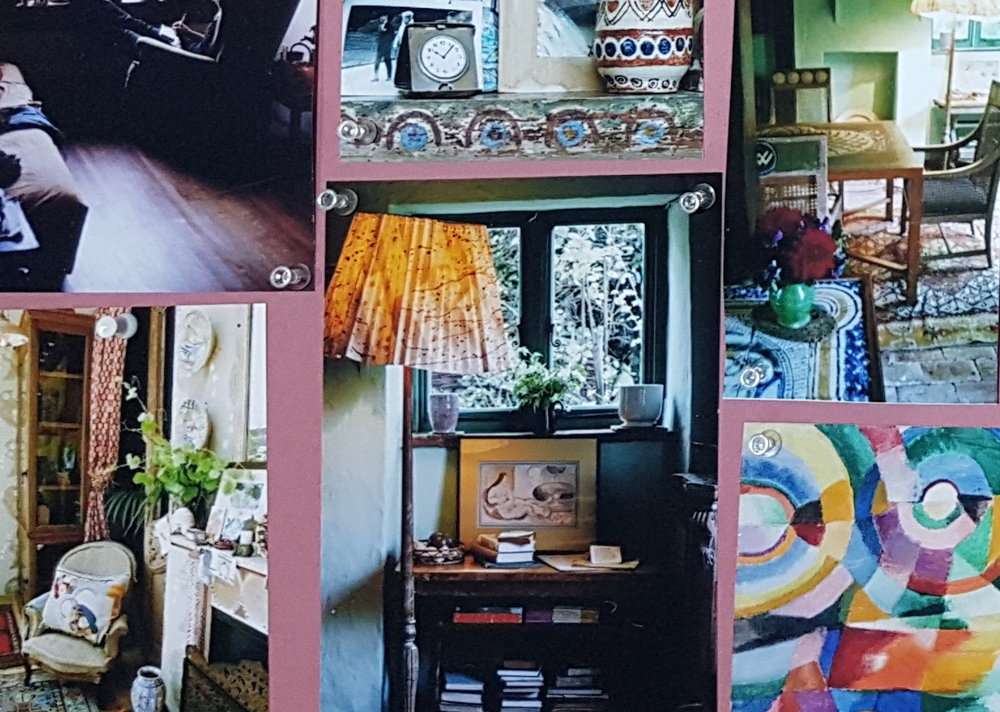 MARI - Beginnings of a style mood board for the house in Mari. Directed by Georgia Parris
