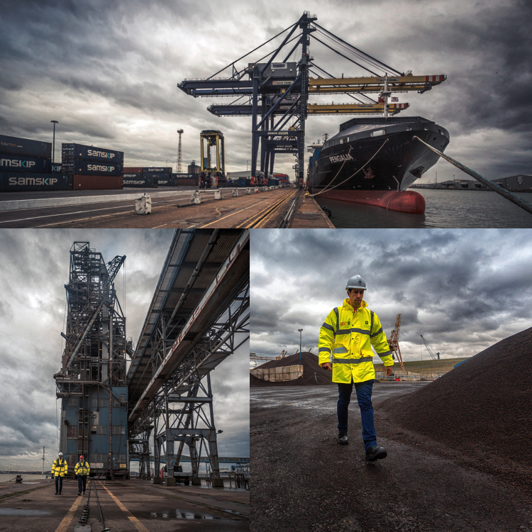 A very moody photo shoot at Forth Ports Port of Tilbury-london.  forthports.co.uk/tilbury-london