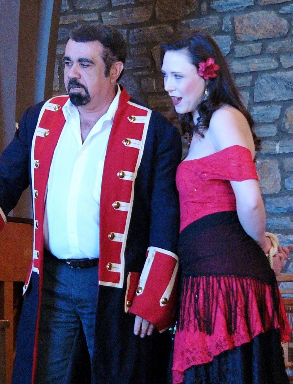 """Carmen"" with Amici Opera"