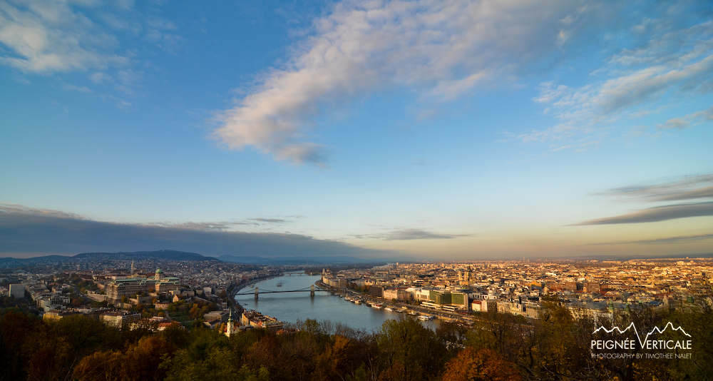 Gellert Hill : Sunset