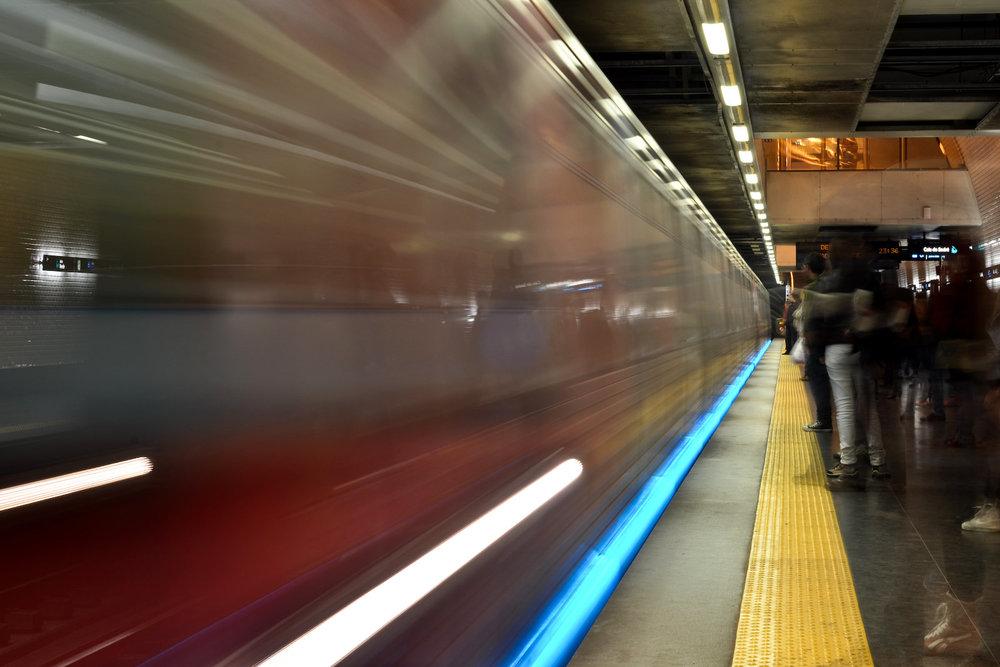 Le métro, Lisbonne