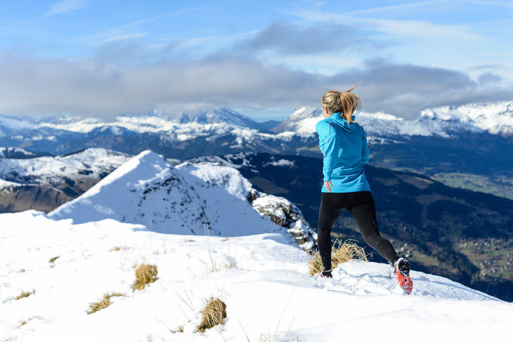 Trail-running en hiver