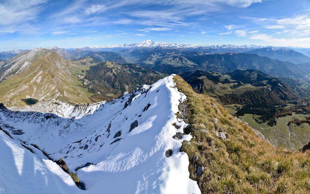 Arête du Mont Charvin