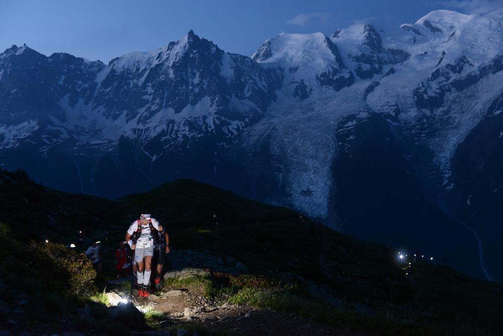 80km du Mont Blanc, au petit matin