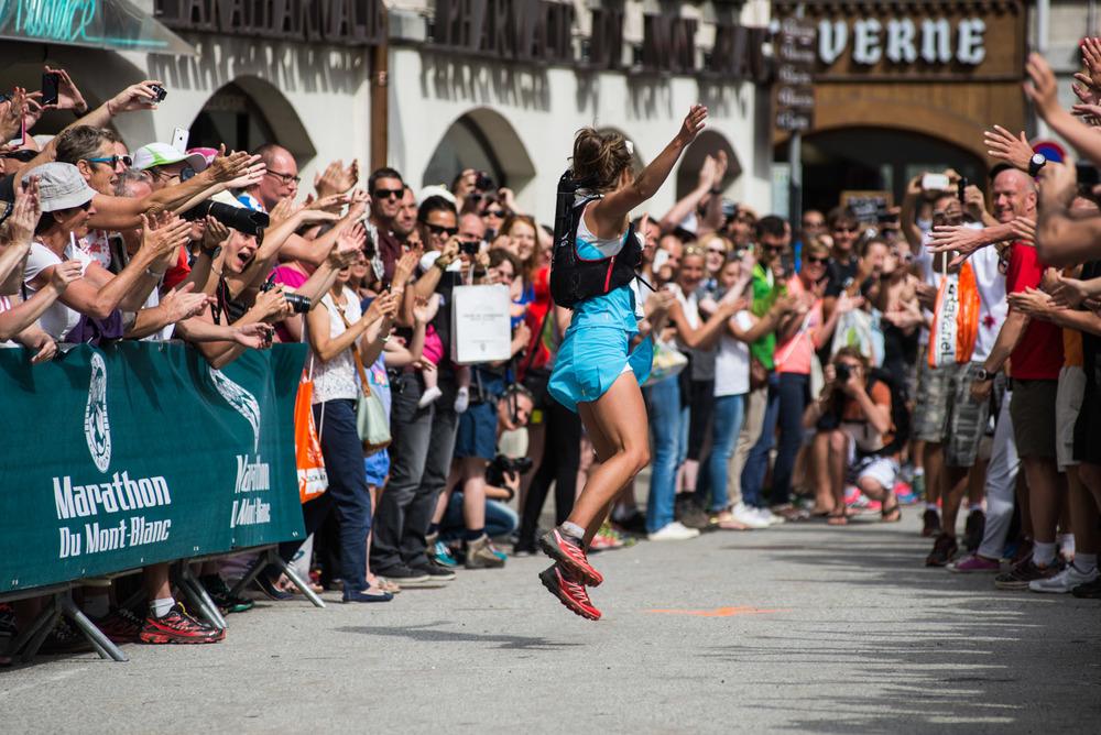 Emelie Forsberg victorieuse à Chamonix