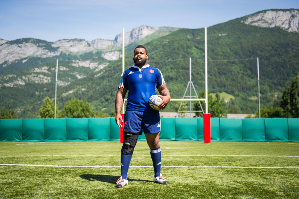 Mathieu Bastareaud, XV de France de Rugby