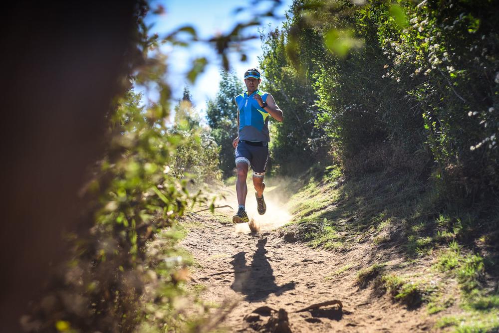 Julien Chorier sur les sentiers de la Réunion