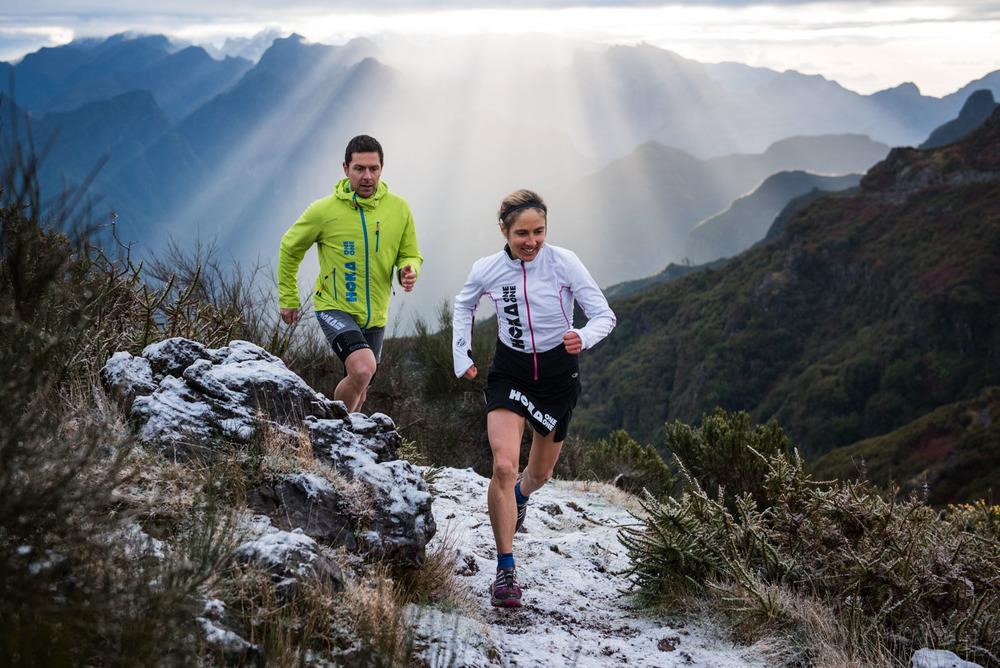 Caroline Chaverot et Julien Chorier, Team Hoka
