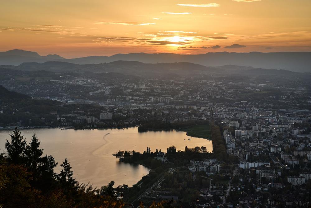 Le coeur du Lac d'Annecy