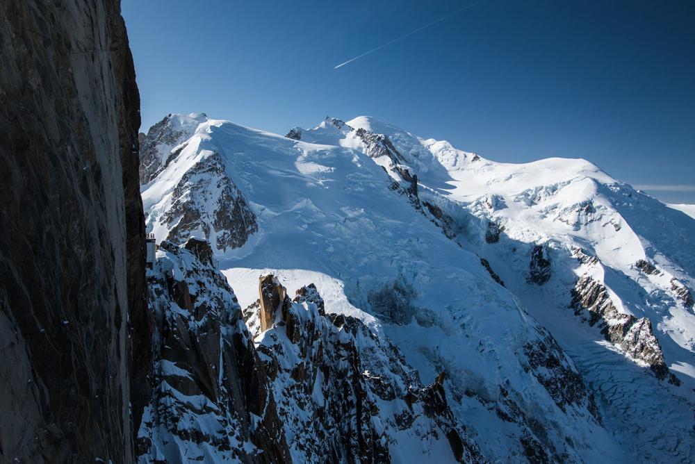 Vue imprenable sur le Mont-Blanc