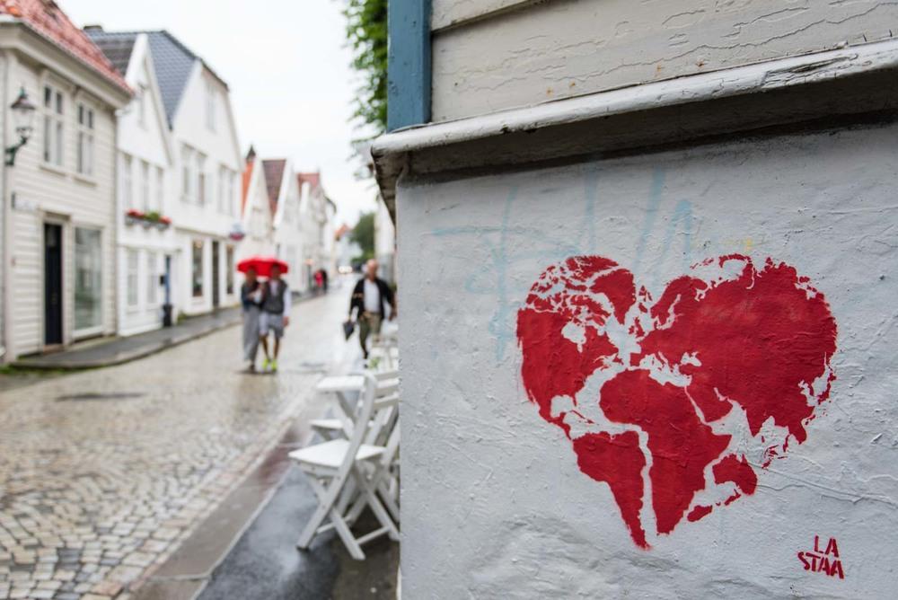 Street art à Bergen