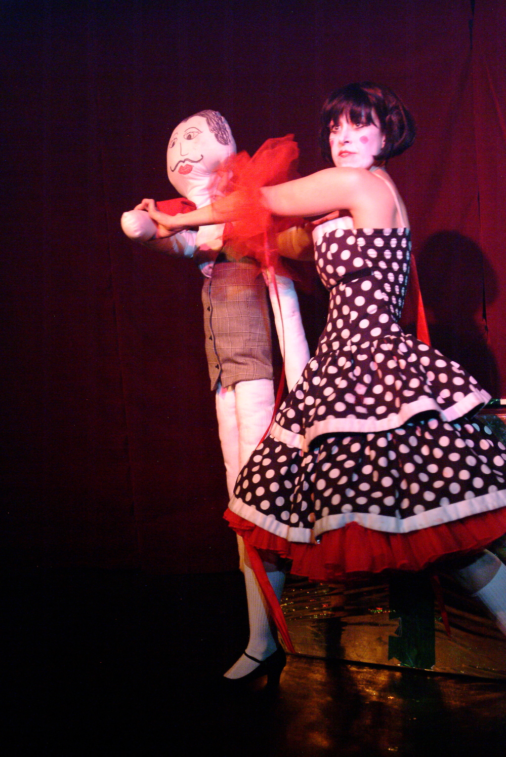 """Dance Macabre"" from  A Very Grand Guignol Christmas , Grand Guignolers 2007. Mark Bennington Photography."