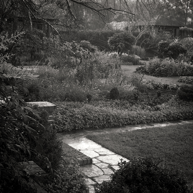 The Sunken Greenhouse Garden. Reynolda Gardens, Winston-Salem, NC. Restoration by The Jaeger Company. Photo ©2012 Lee Anne White.