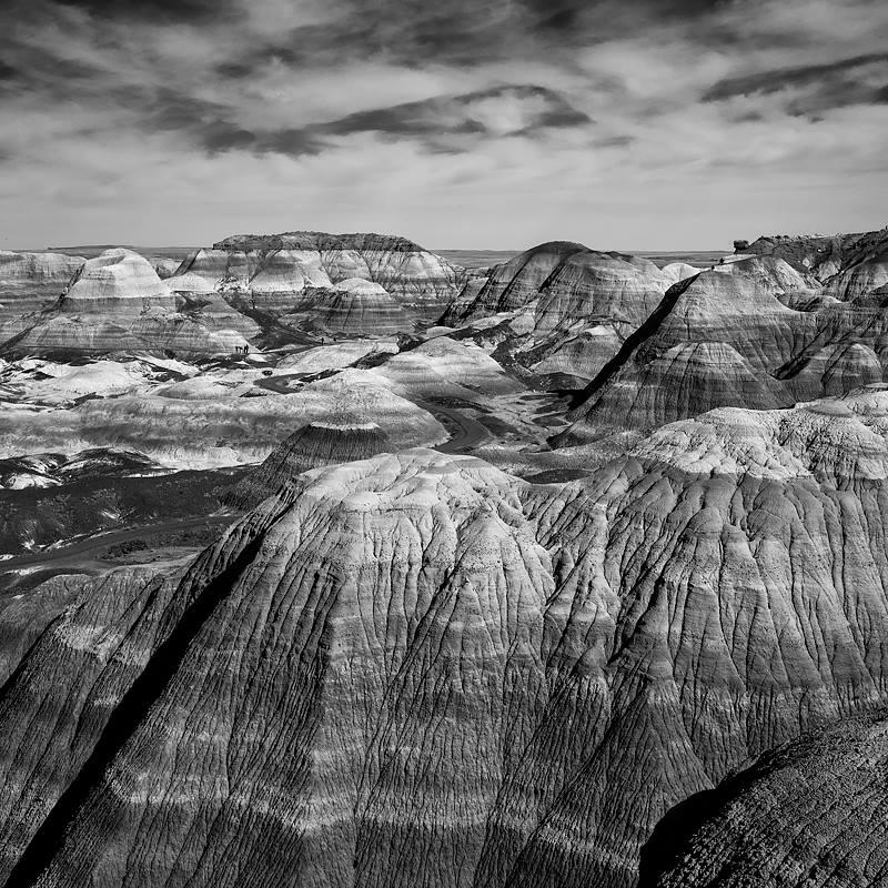 Blue Mesa . Petrified Forest National Park near Holbrook, Arizona. ©2016 Lee Anne White