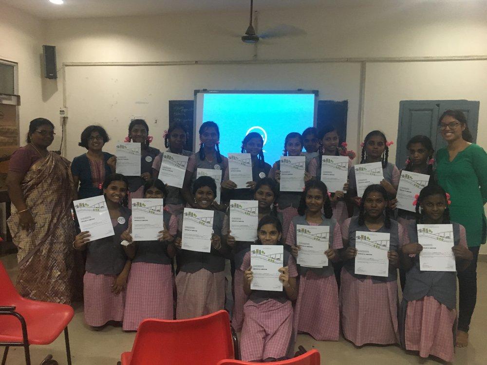 CGHSS, Nungambakkam - Team: Abinaya Rajavelu & Vidhya Mohankumar