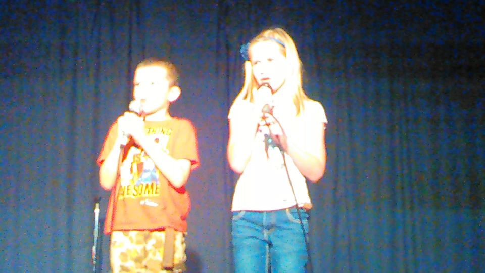 "Asher & Jaylee perform ""You Alone are God"" at Saturday Night Alive."