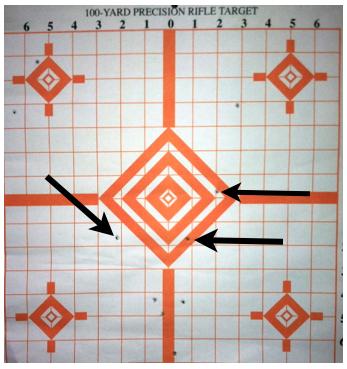 Semi-automatic target