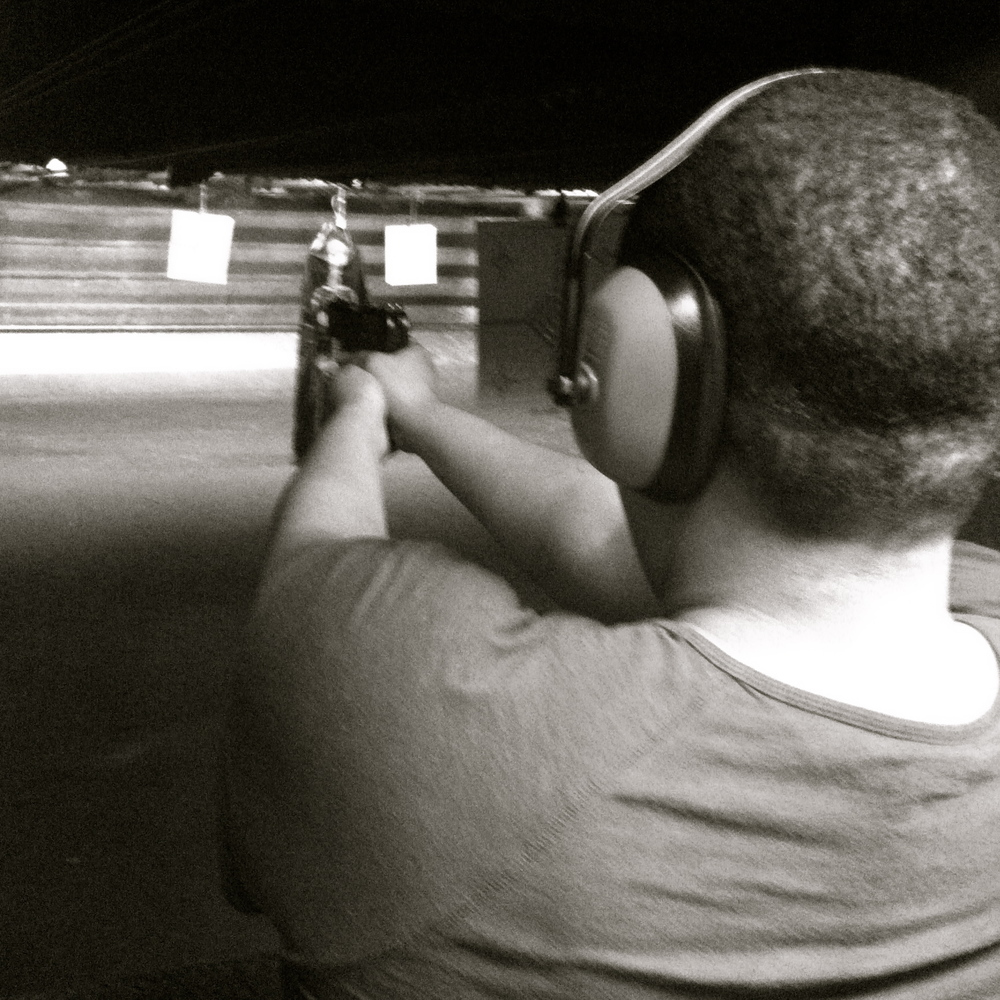On the range with a Semi-automatic