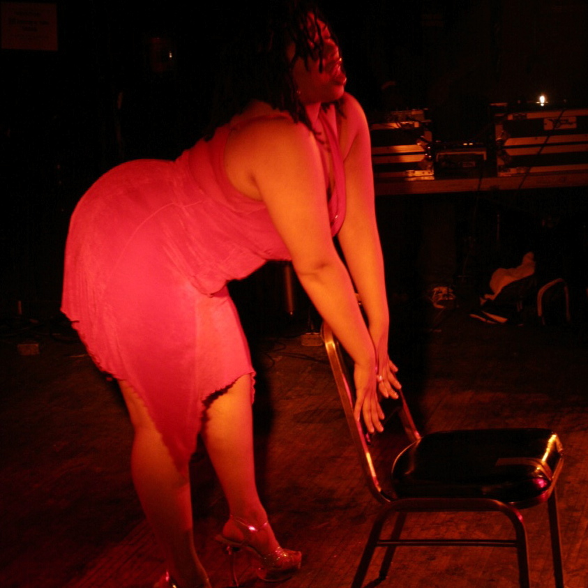 From my first Burlesque show ever. April 6, 2006.