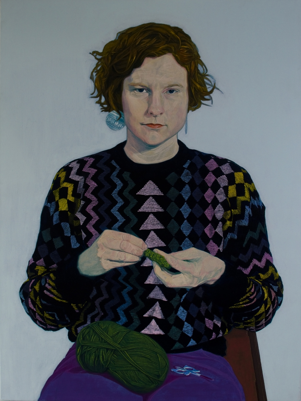 1 98 h Jesse Dayan, Mija, Oil on Linen, 36x48'',2013.jpg