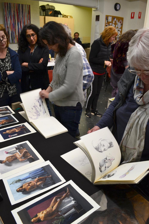 Joe Whyte's sketch books -