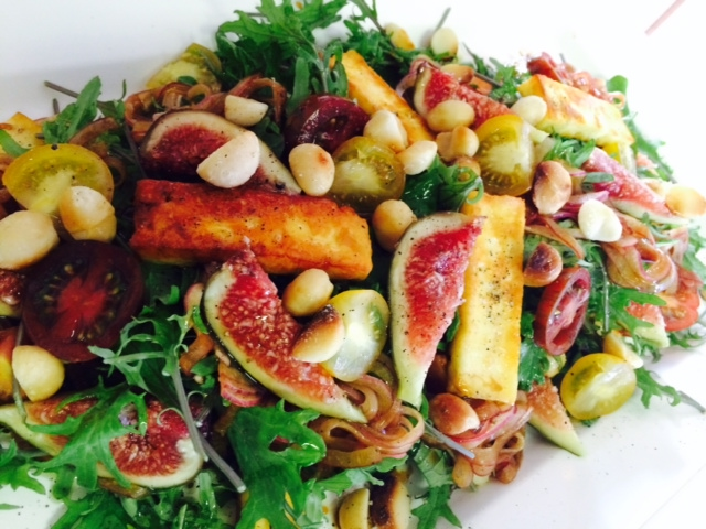 Fig & grilled haloumi salad.JPG