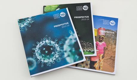 LSHTM |  Prospectus design