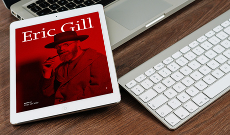 Eric Gill |  iPad publication