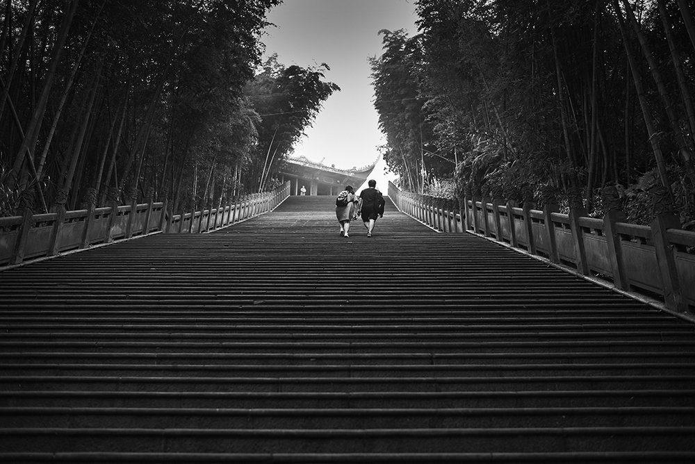 Temple Steps - China