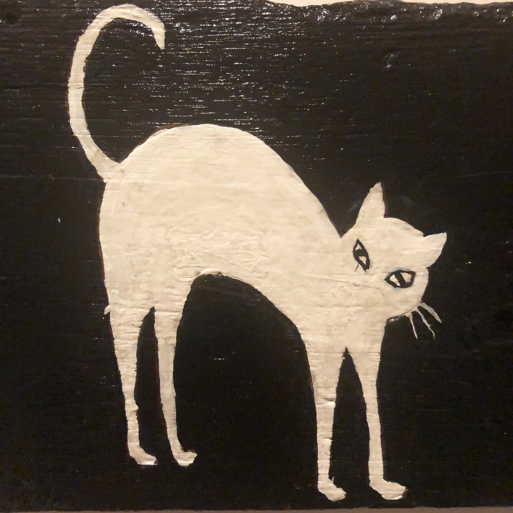 Ghost Cat, detail