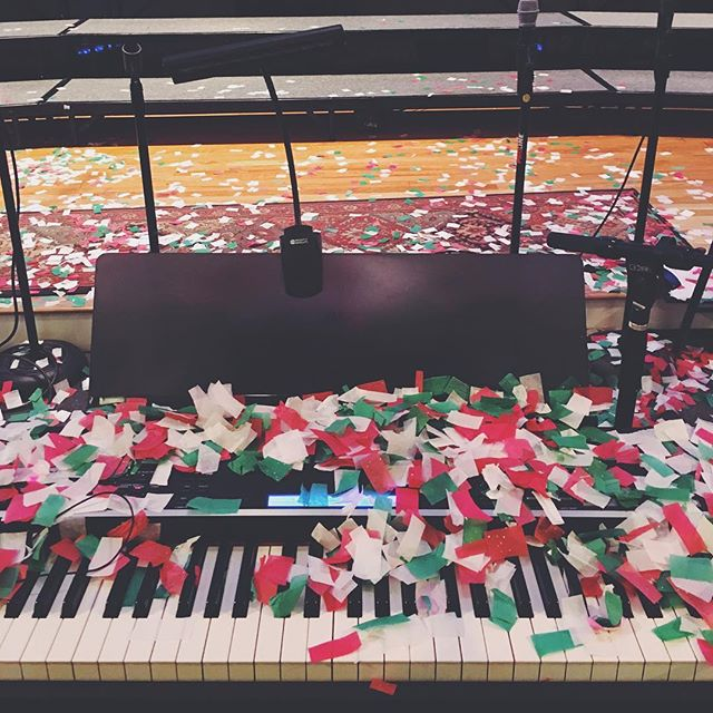 but then, there were confetti cannons!!! #highrockchristmasconcert