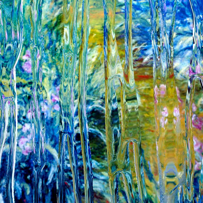 After Claude Monet: Iris 1, 1916, 2017