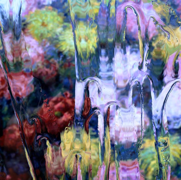 After Claude Monet: Chrysanthemums 1, 1897, 2017
