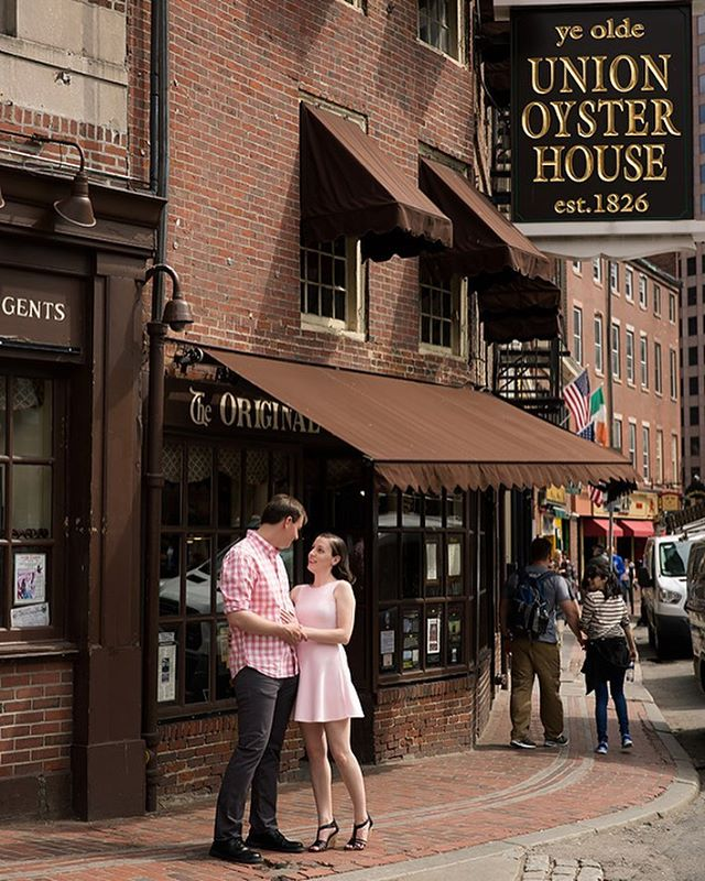 An adventure in Boston with a beautiful couple! #unionoysterhouse